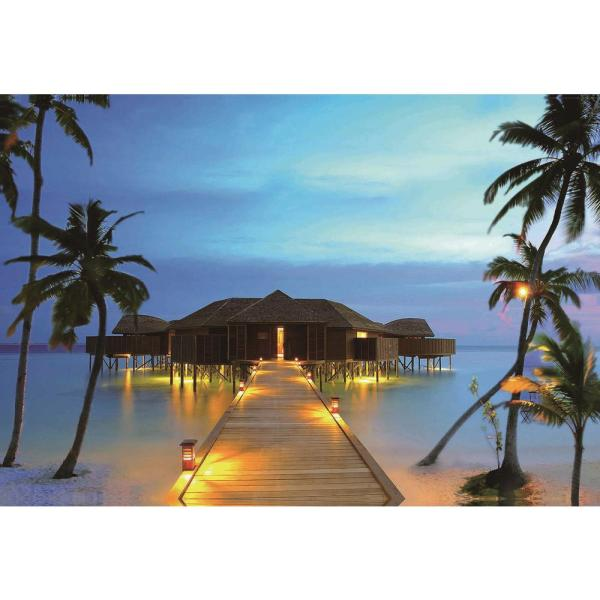 Northlight LED Lighted Tropical Paradise Island Beach