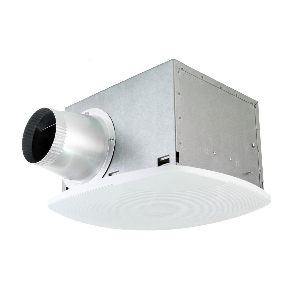 NuVent Super Quiet 80 CFM High Efficiency Ceiling Bathroom