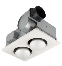 nutone 70 cfm ceiling bathroom exhaust fan with 250 watt 2 bulbnutone 70 cfm ceiling bathroom [ 1000 x 1000 Pixel ]