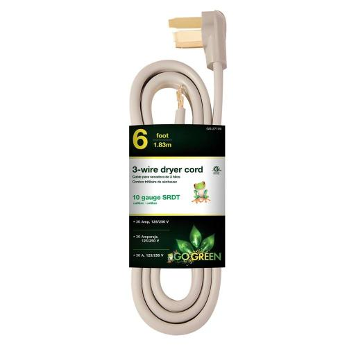 small resolution of 10 3 3 wire dryer cord hd 627 833 the home depot