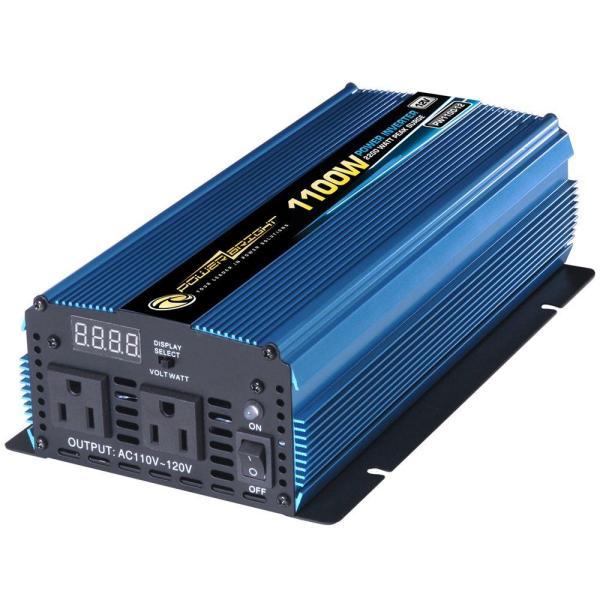 Power Bright 12 Volt Dc Ac 1100-watt Inverter-pw1100-12 - Home Depot