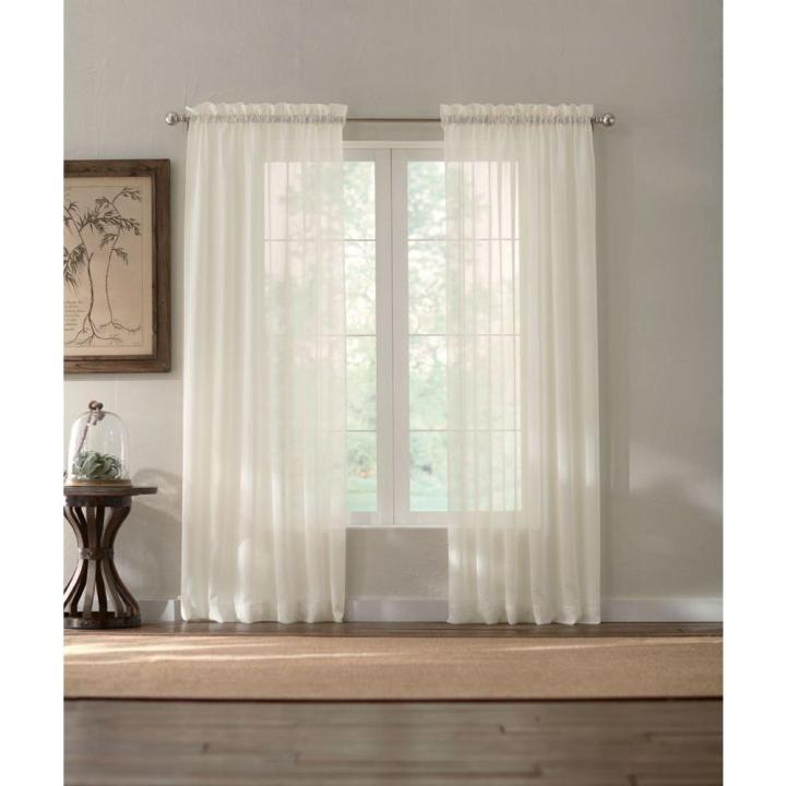 How To Size Sheer Curtains