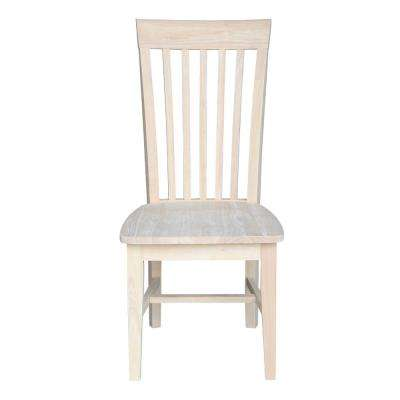 grey kitchen chairs club walmart dining room furniture the home depot unfinished wood mission chair set of 2