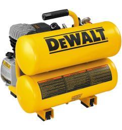 dewalt 4 gal portable electric air compressor [ 1000 x 1000 Pixel ]