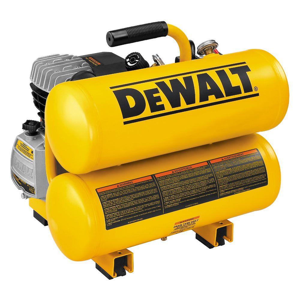 medium resolution of dewalt 4 gal portable electric air compressor