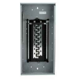 es series 200 amp 30 space 60 circuit main lug wireguide load center [ 1000 x 1000 Pixel ]