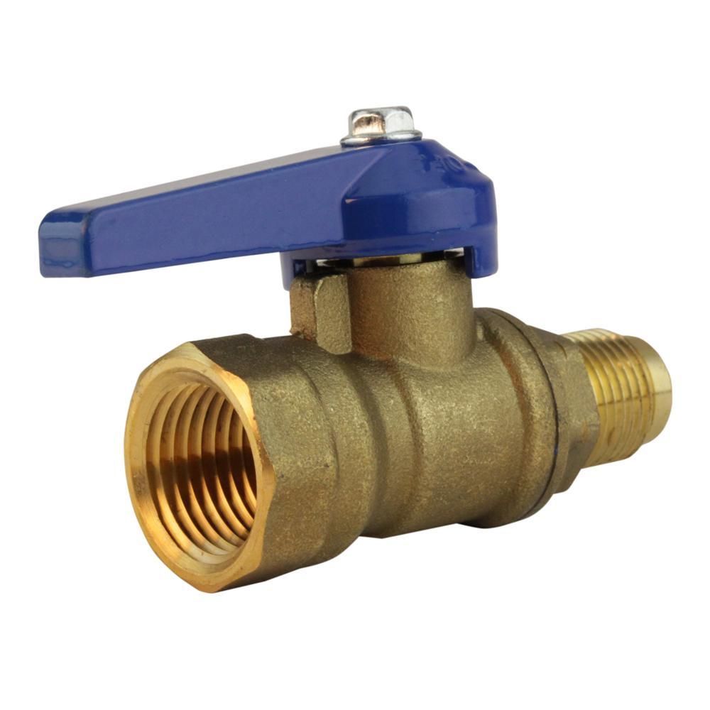 medium resolution of lead free brass flare shutoff cock 1 2 in fl x 1