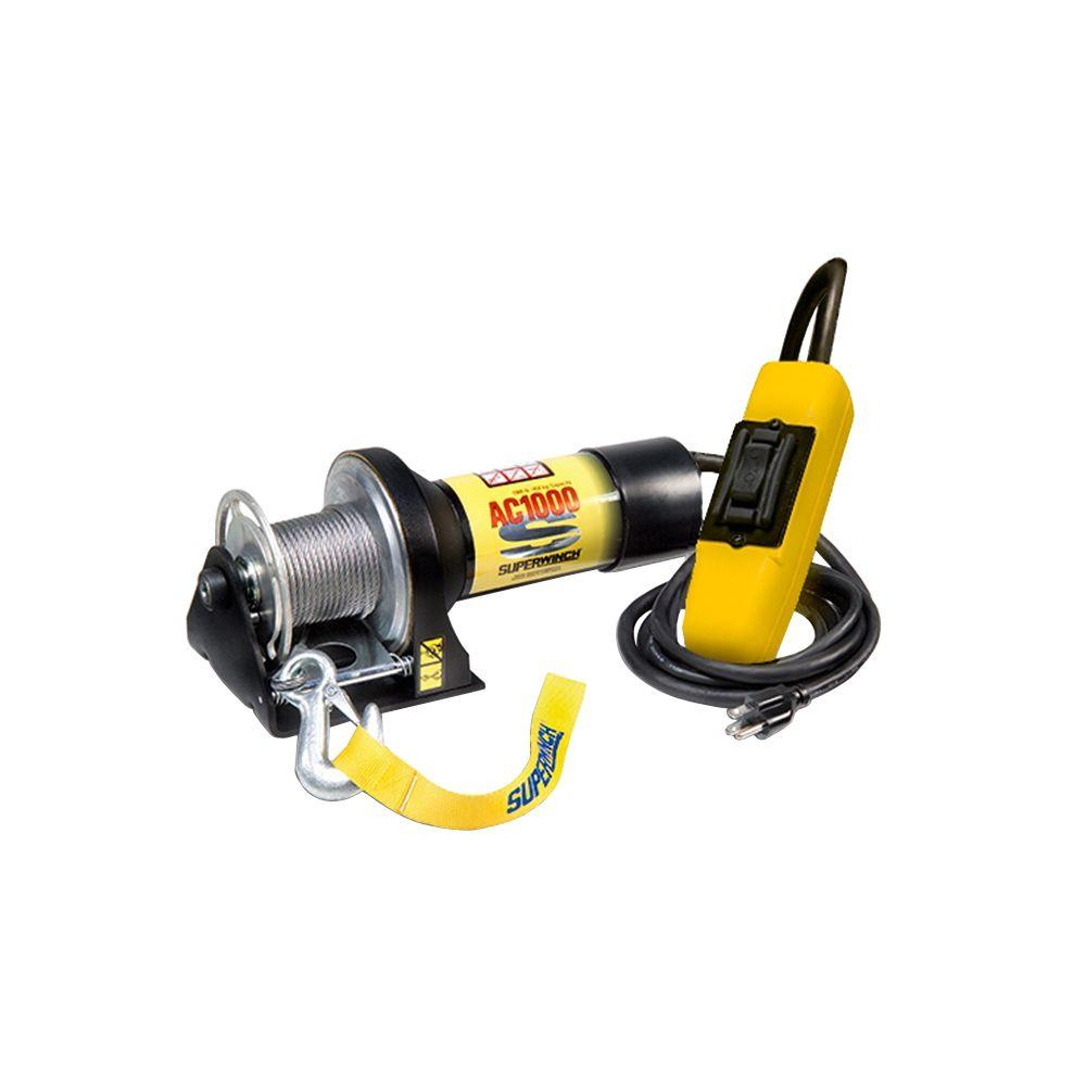 medium resolution of superwinch ac1000 115 volt ac industrial winch with hand held pendant remote