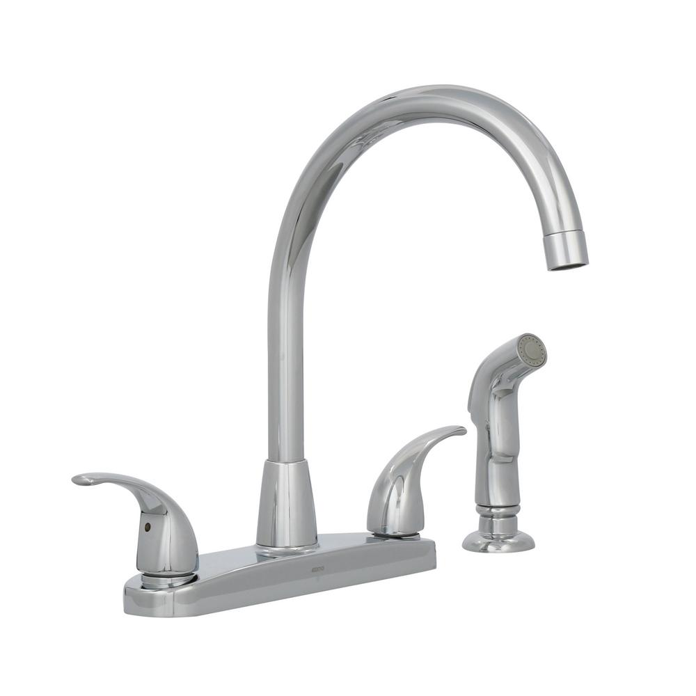 Peerless Choice 2Handle Standard Kitchen Faucet with Side