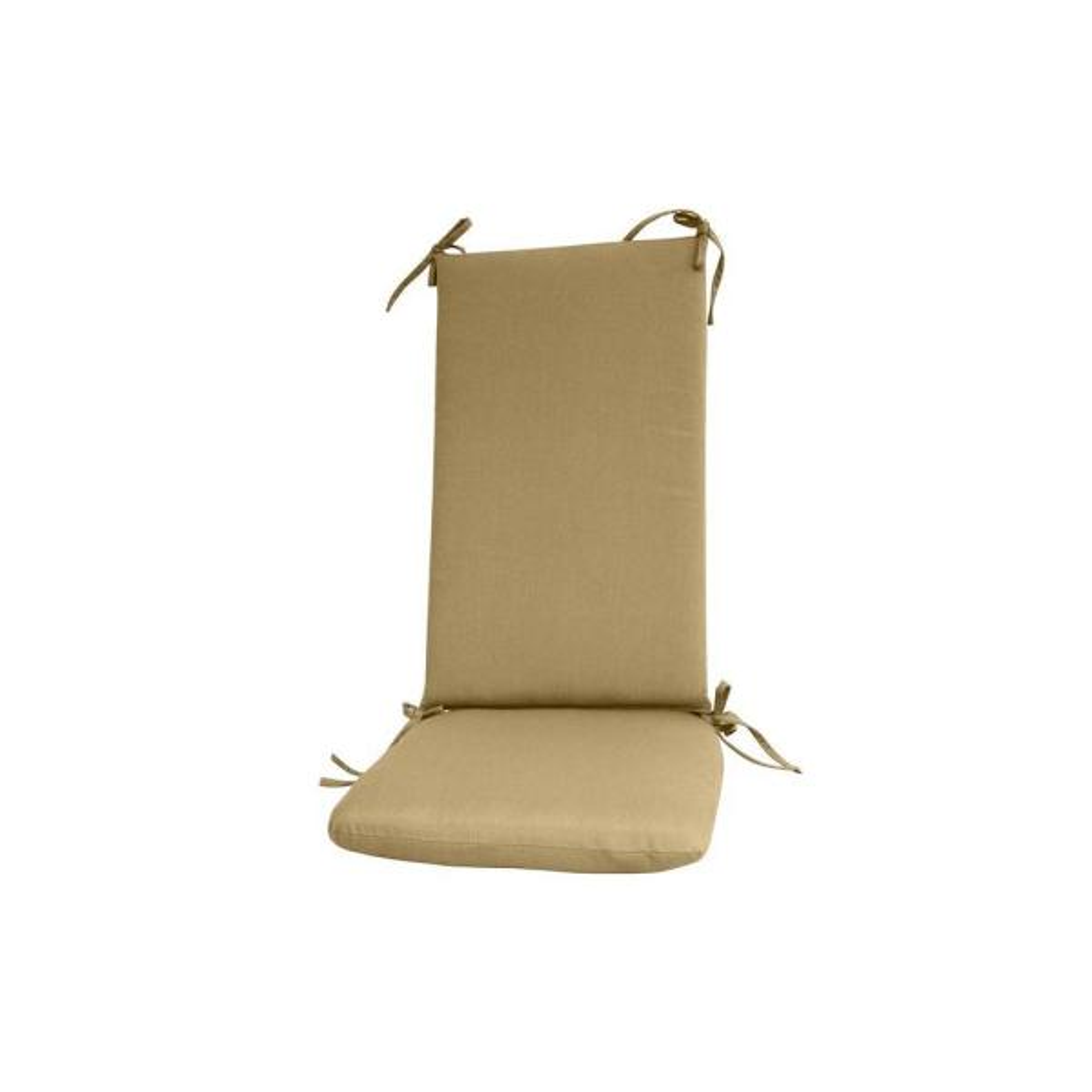 sunbrella sand outdoor rocker cushion set