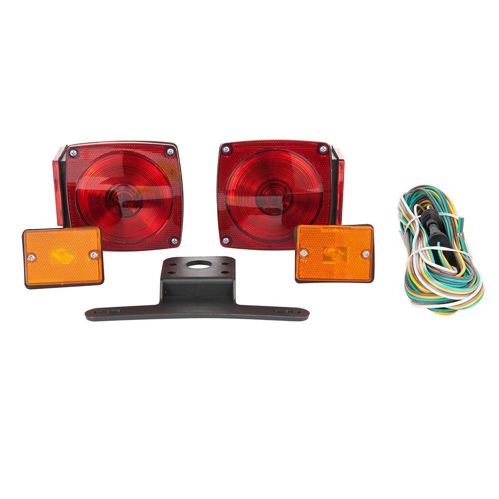 medium resolution of under standard trailer light kit with side marker lights