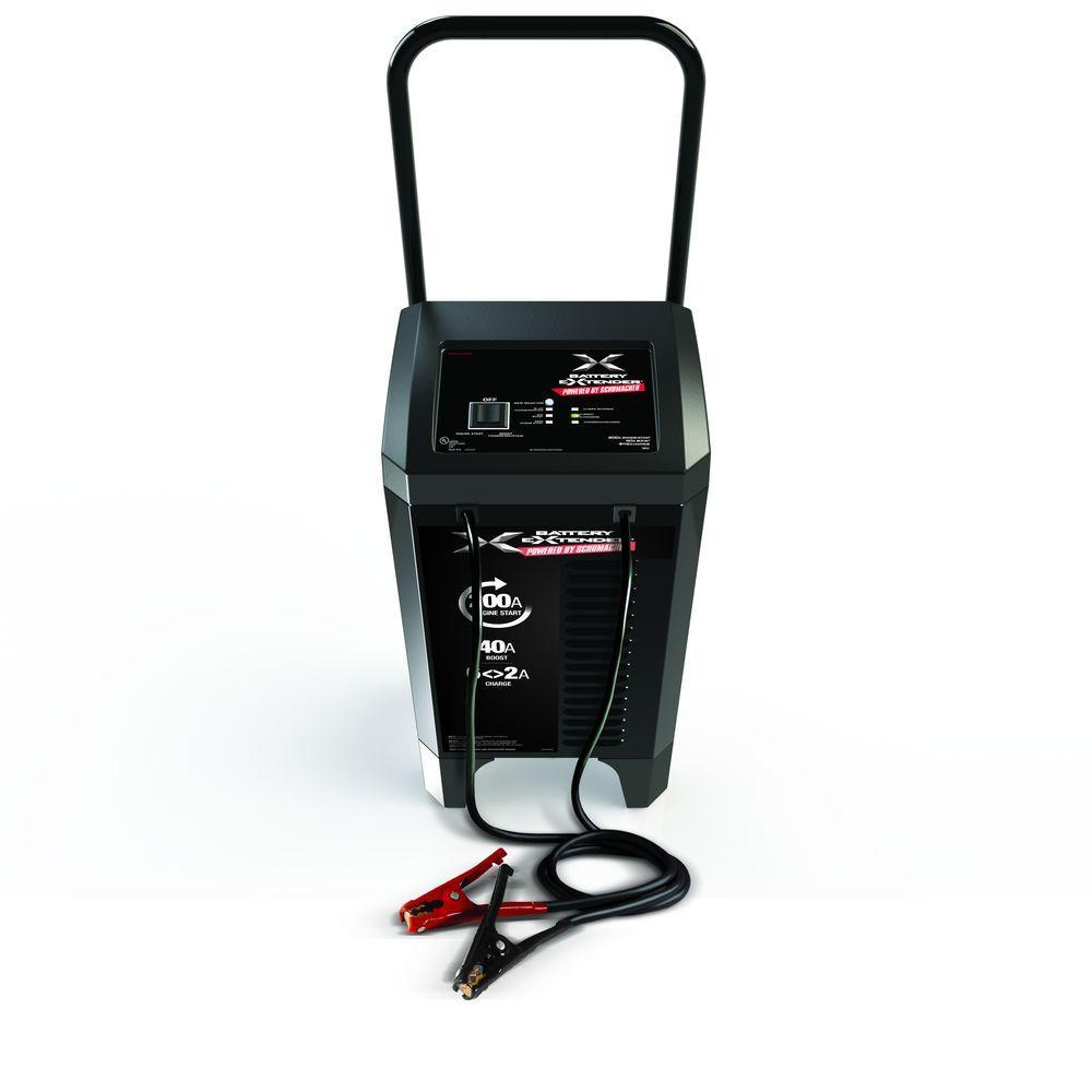 hight resolution of schumacher battery extender 12 volt 200 amp engine start 40 amp charger