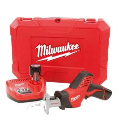 m12 12 volt lithium ion hackzall cordless reciprocating saw w 2  [ 1000 x 1000 Pixel ]