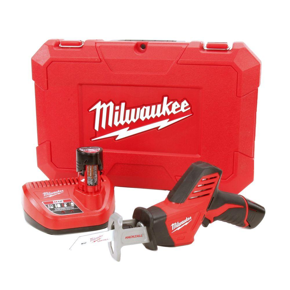 medium resolution of m12 12 volt lithium ion hackzall cordless reciprocating saw w 2