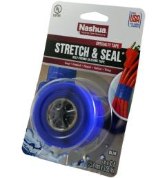 stretch and seal self fusing silicone tape in blue [ 1000 x 1000 Pixel ]
