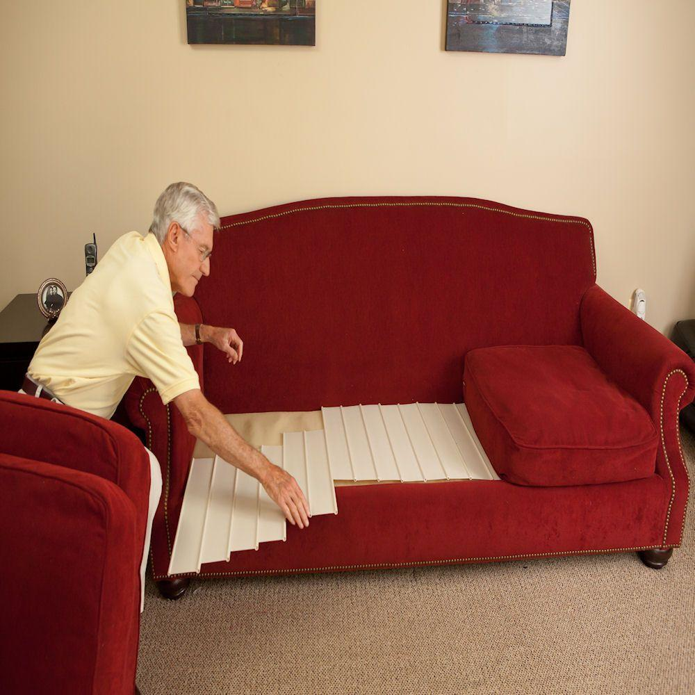 how to fix a sagging sofa bed decorating table for christmas seat support saver the official eenontv ...
