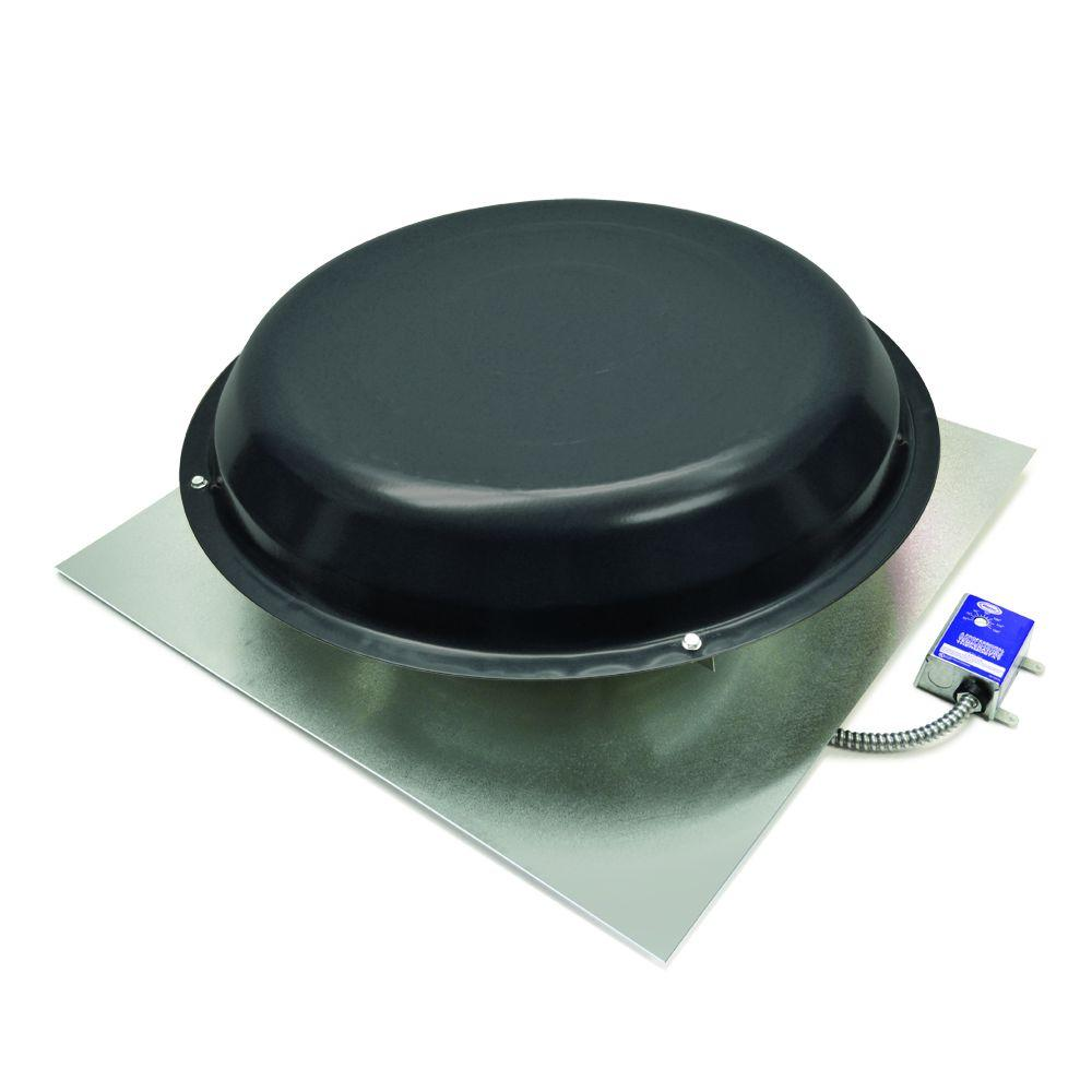 hight resolution of master flow 1250 cfm power roof mount vent in black