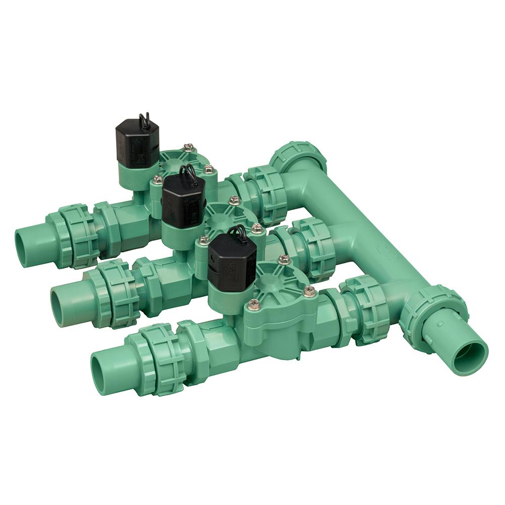 medium resolution of 3 valve inline manifold assembly