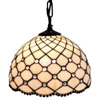Chandelier Tiffany Style Hanging Lamp Pendant Glass