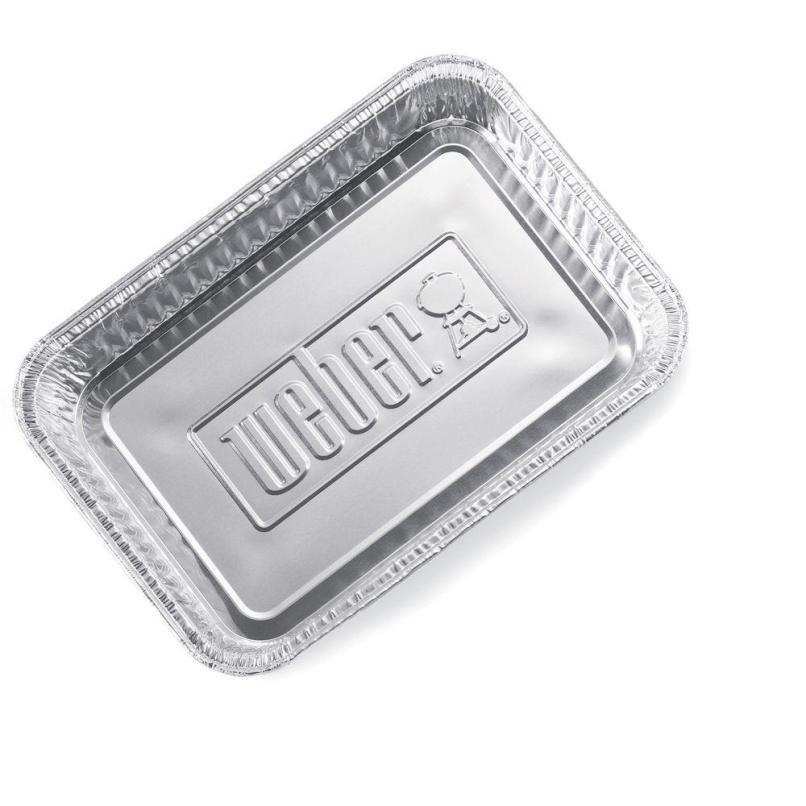 Weber Small Drip Pans 10 Pack 6415