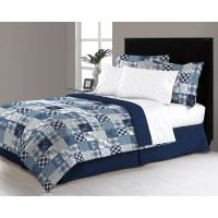 Wycombe 8-Piece Queen Bed in a Bag Comforter Set-M561429 ...