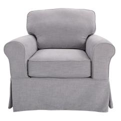 Home Depot Stacking Chair Covers Green Recliner Cover Ave Six Ashton With Fog Slip Asn51 S67 The