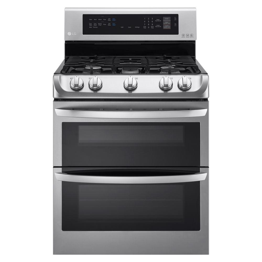 hight resolution of lg electronics 6 9 cu ft double oven gas range with probake lg stove top wiring diagram