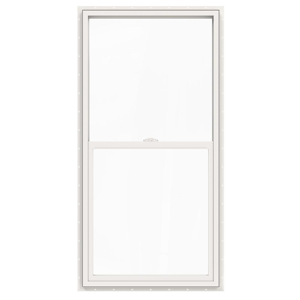 JELD-WEN 29.5 in. x 59.5 in. V-2500 Series White Vinyl