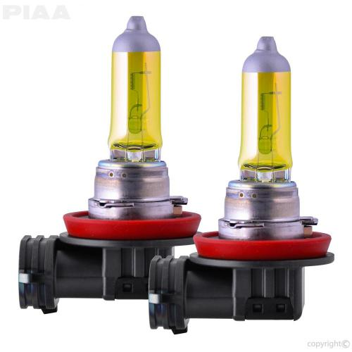 small resolution of solar yellow series halogen bulb h8 twin pack