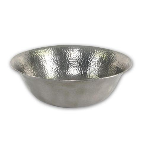 small resolution of hammerwerks series 16 in freestanding copper vessel sink in lustrous pewter