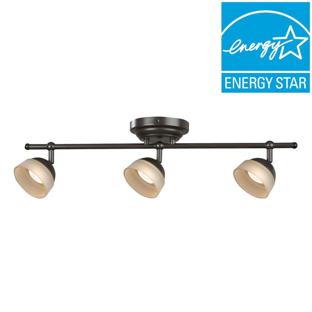 alsy 5 light led track lighting kit