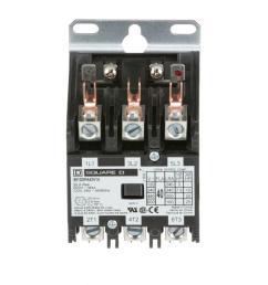 40 amp 24 volt ac 3 pole open definite purpose contactor 20 pack  [ 1000 x 1000 Pixel ]