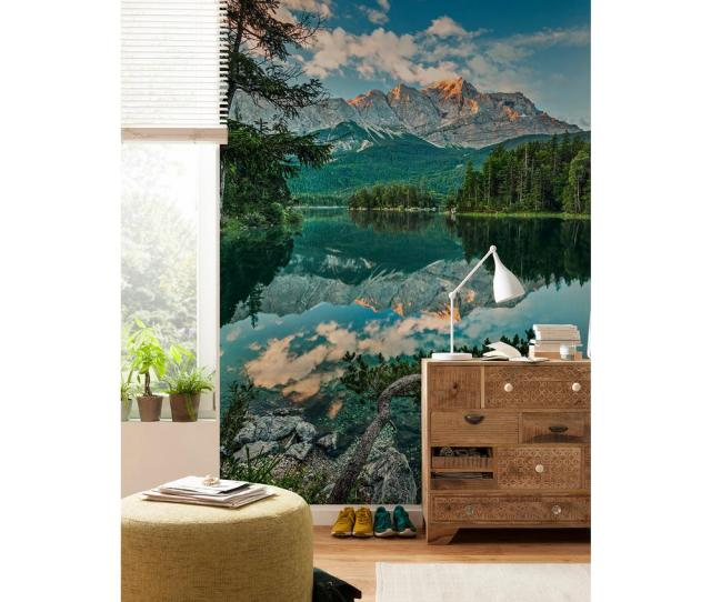Komar Scenic Landscapes Mirror Lake Wall Mural