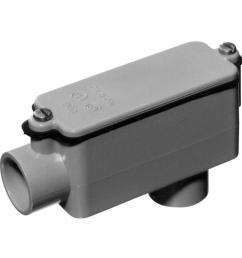 carlon 1 2 in schedule 40 and 80 pvc type lb conduit body [ 1000 x 1000 Pixel ]