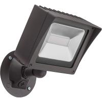 Lithonia Lighting Bronze Outdoor Integrated LED Wall Mount ...