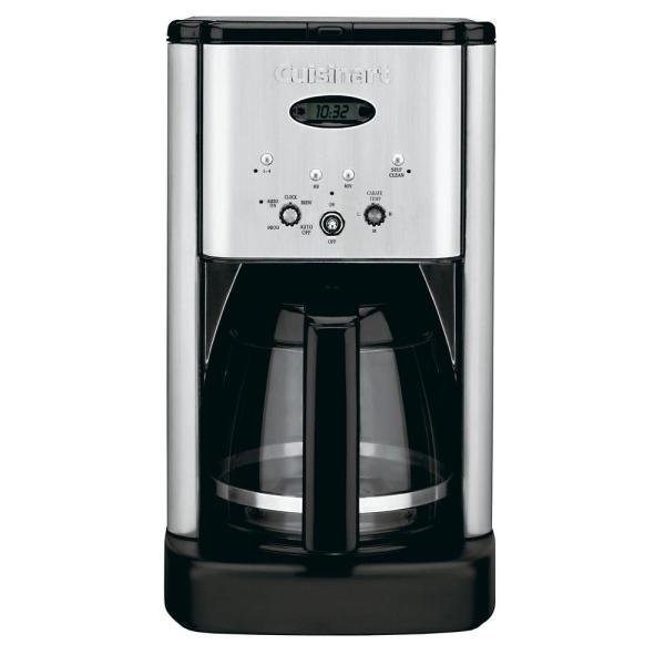 Cuisinart Brew Central 12-cup Programmable Coffee Maker In Stainless Steel-dcc-1200 - Home Depot