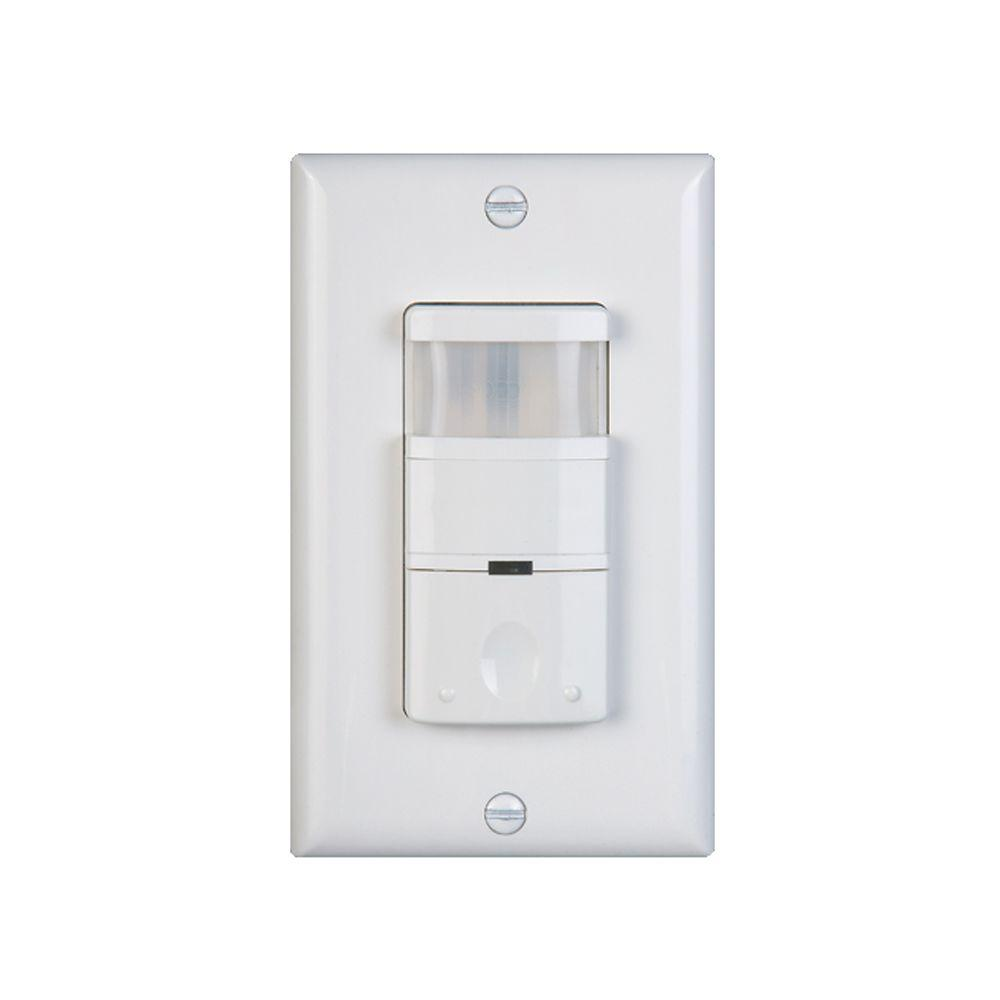 medium resolution of 120 volt occupancy vacancy passive infrared motion sensor wall switch