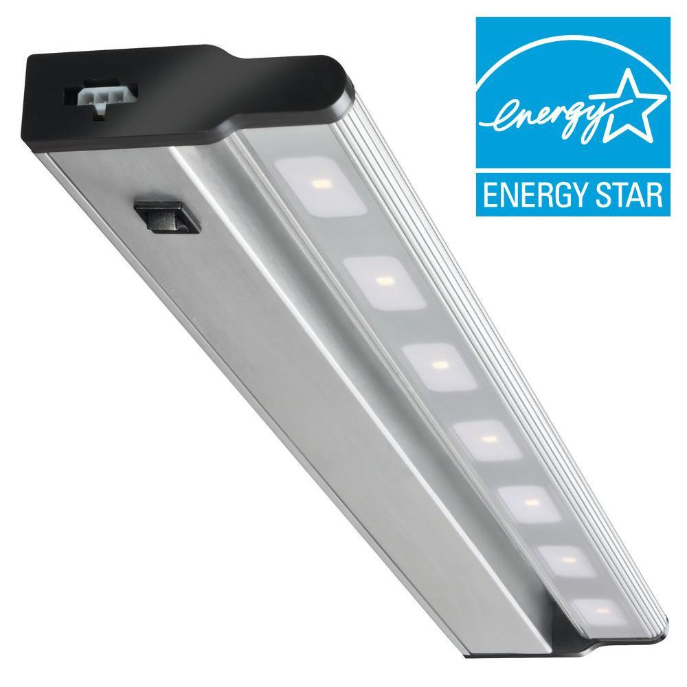 Lithonia Lighting 24 in LED Brushed Nickel Under Cabinet