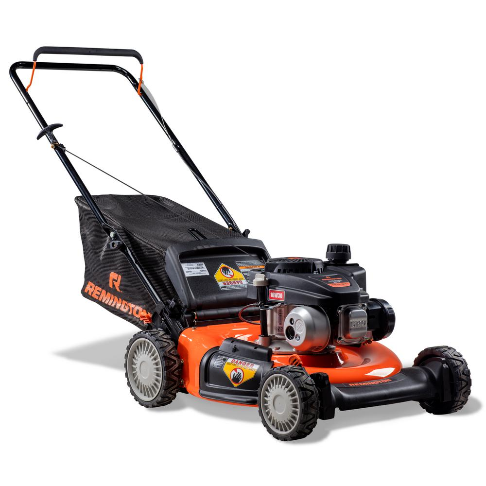 hight resolution of remington 21 in 140cc 3 in 1 gas walk behind push mower