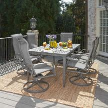 Round 7 Piece Patio Dining Set