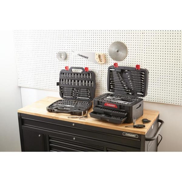 Husky 268 Pc Mechanics Car Repair Tool Box Set