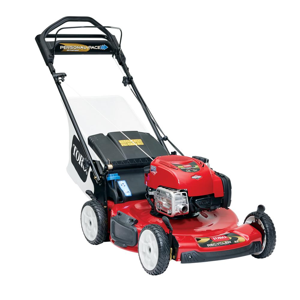 hight resolution of toro 22 in personal pace recycler variable speed gas walk behind self propelled lawn mower