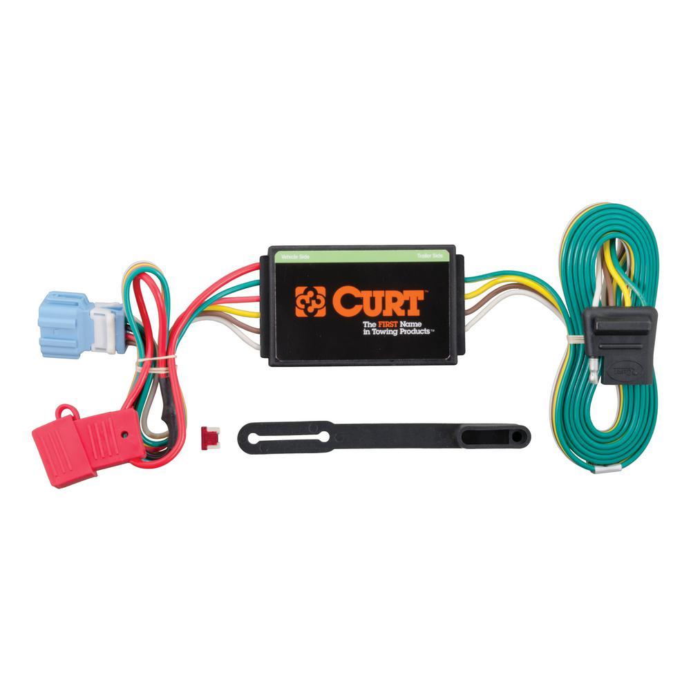 medium resolution of custom wiring connector 4 way flat output