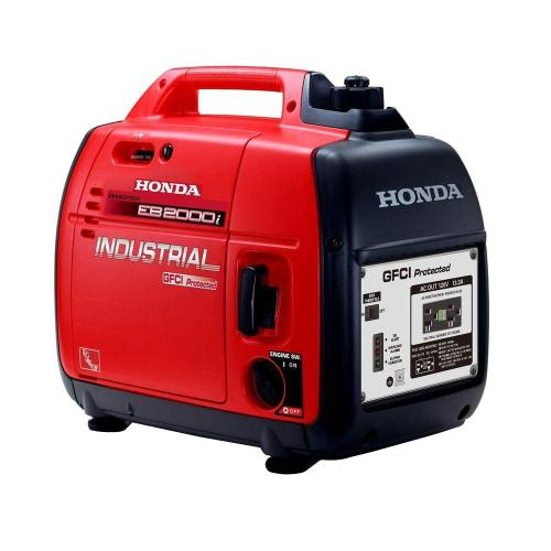 small resolution of honda 1600 watt gasoline powered portable generator with gfci protection
