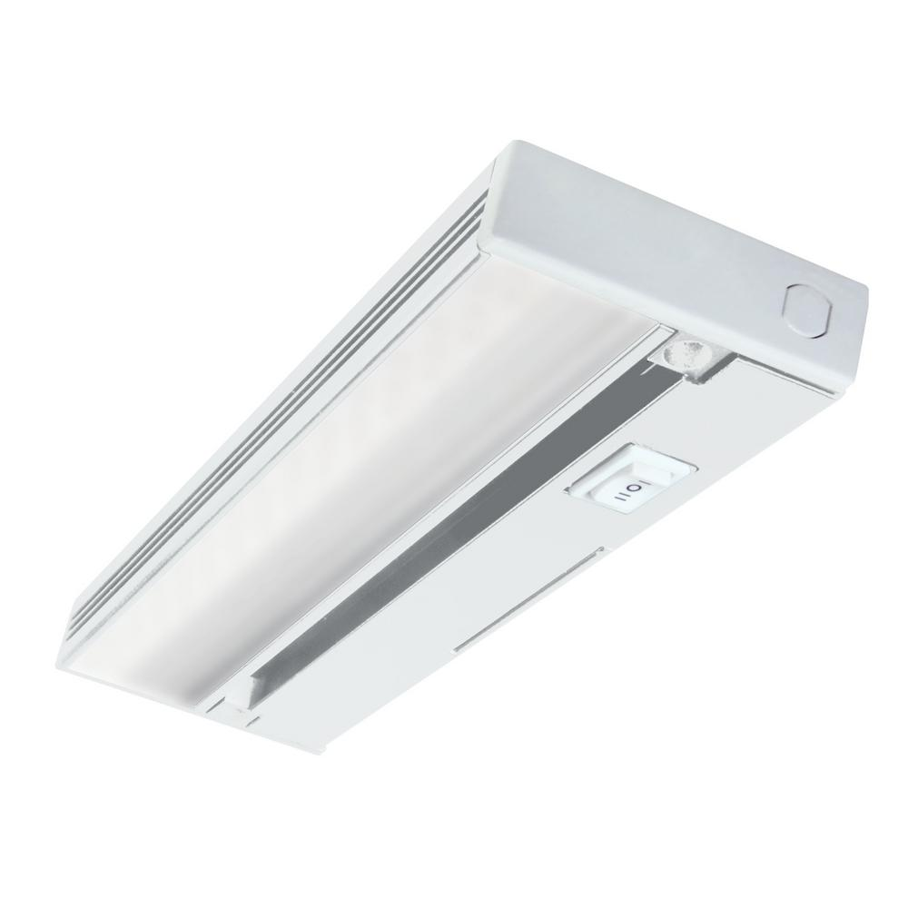 GE 18 in LED White Under Cabinet Light12689  The Home Depot