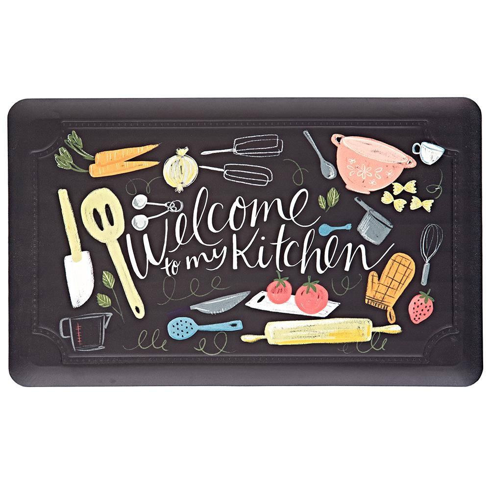 Mohawk Home Scattered Kitchen 18 in x 30 in Kitchen Mat
