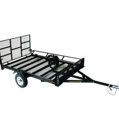 northstar trailers unistar 6 ft x 10 5 ft atv trailer kit with side loading [ 1000 x 1000 Pixel ]