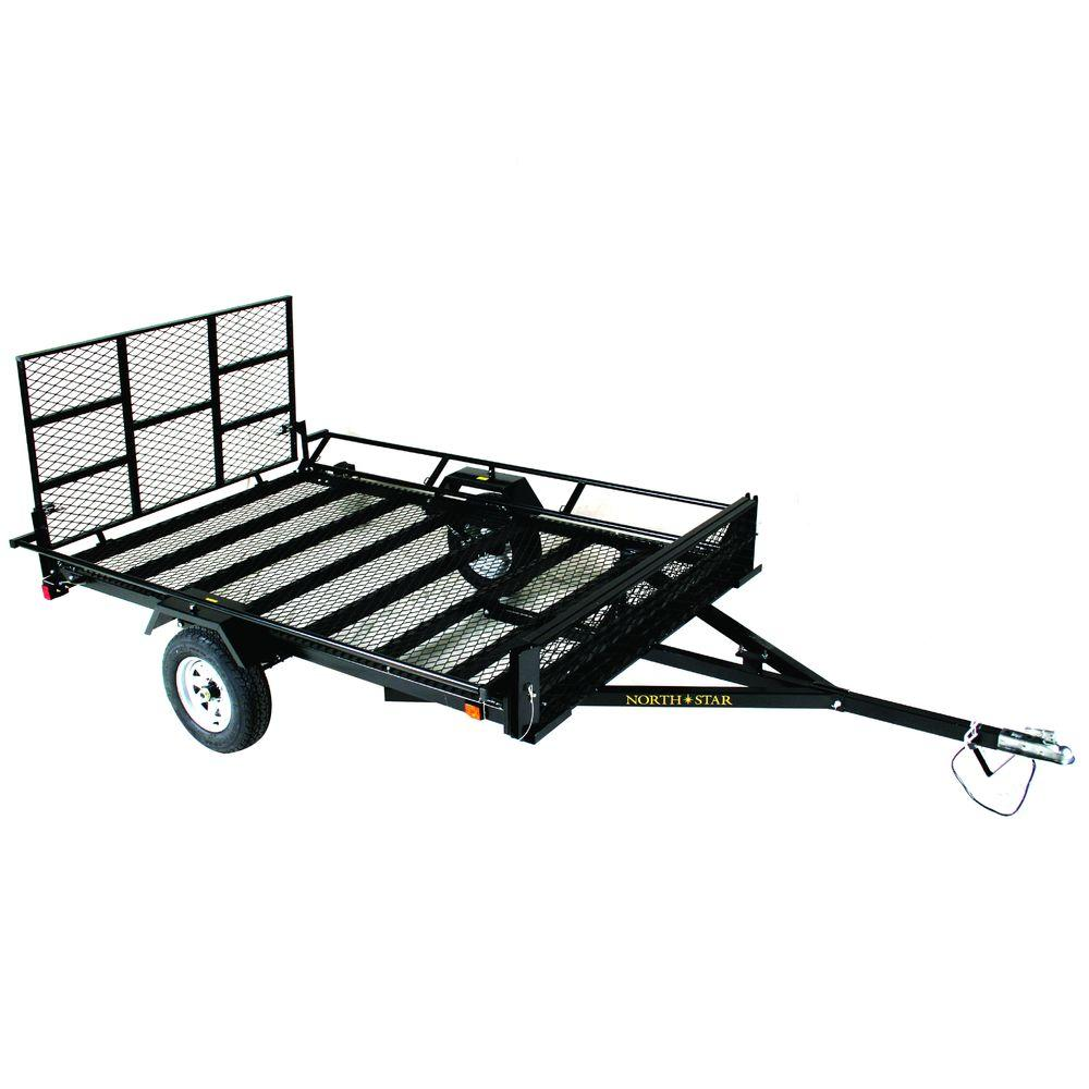 hight resolution of northstar trailers unistar 6 ft x 10 5 ft atv trailer kit with side loading