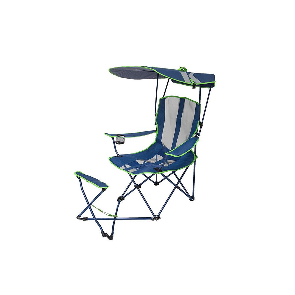 swimways premium canopy chair eames aluminum group lounge replica kelsyus navy lime original with ottoman 80346 the