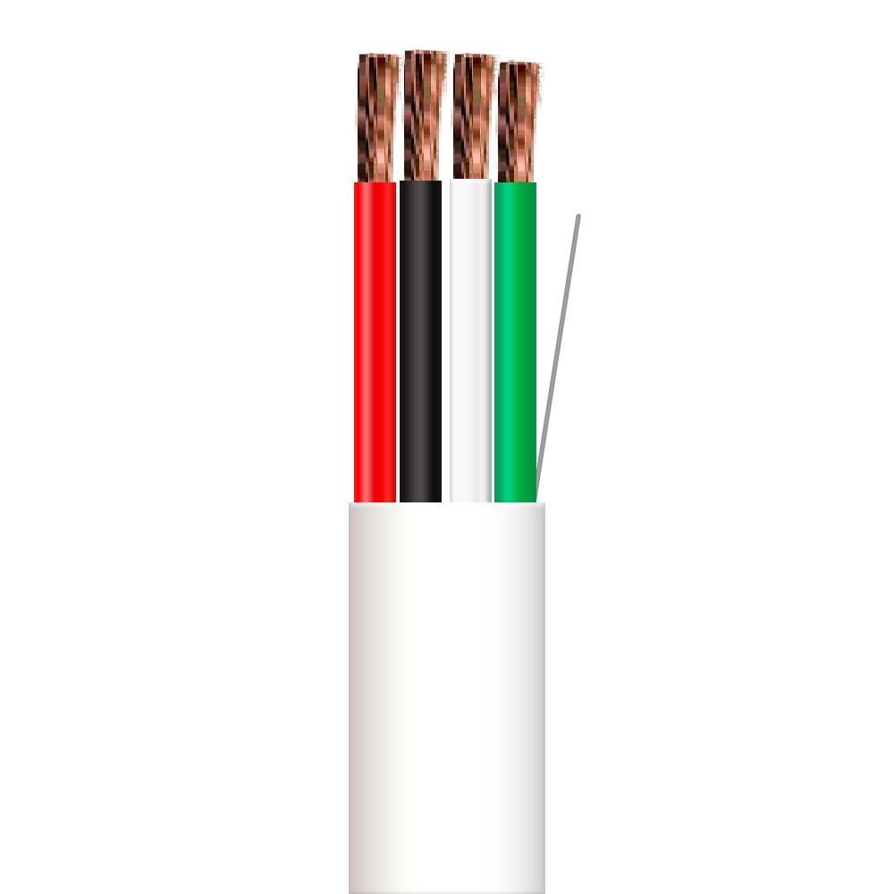hight resolution of 16 gauge 4 conductors cmr cl3r stranded ofc speaker wire